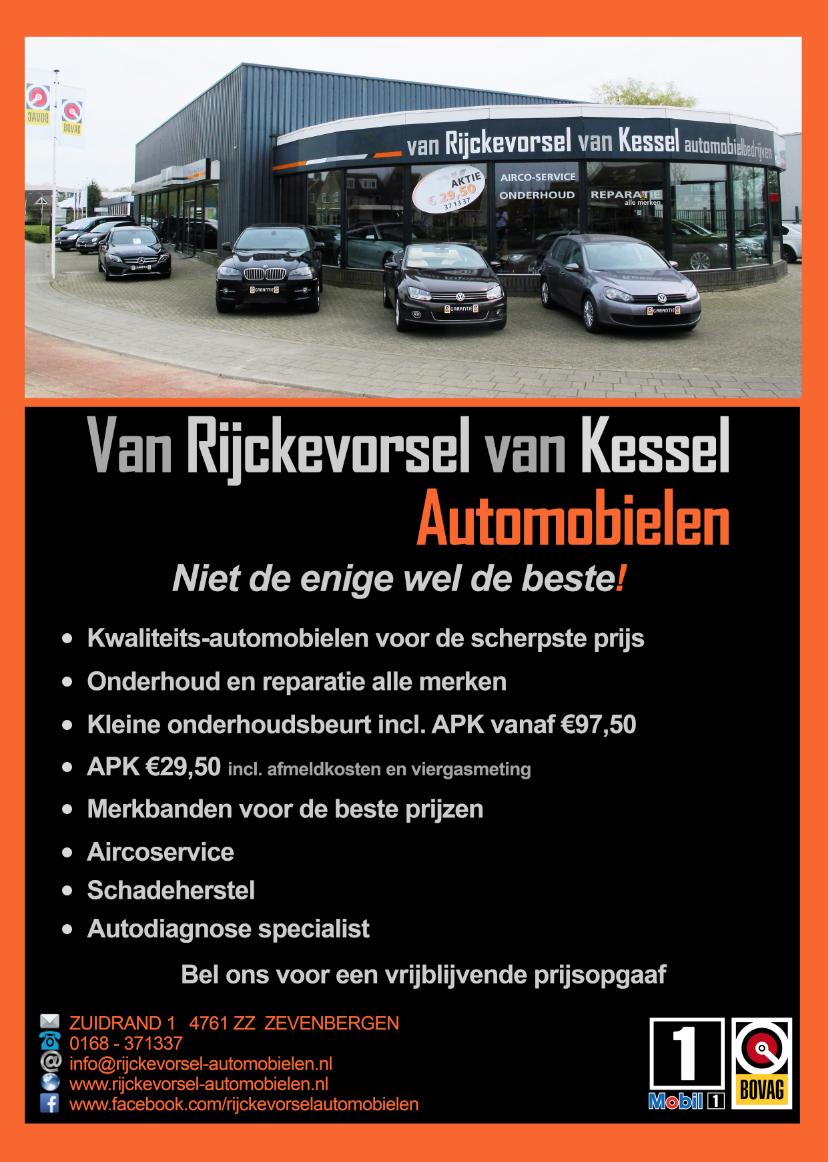 Autobedrijf in Zevenbergen